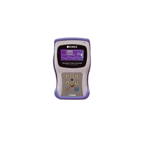 Pulsioxímetro digital de mesa com alarme