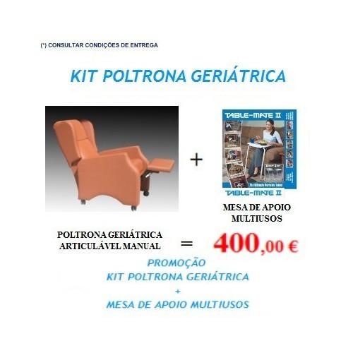 Kit Promoção Poltrona geriátrica