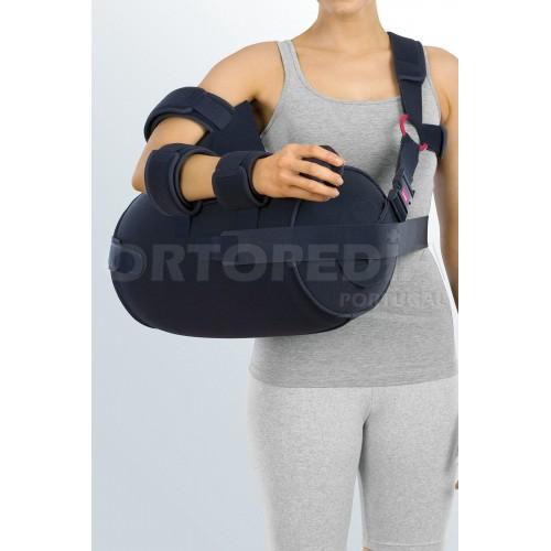 Suporte de ombro com sistema abdutor insuflável