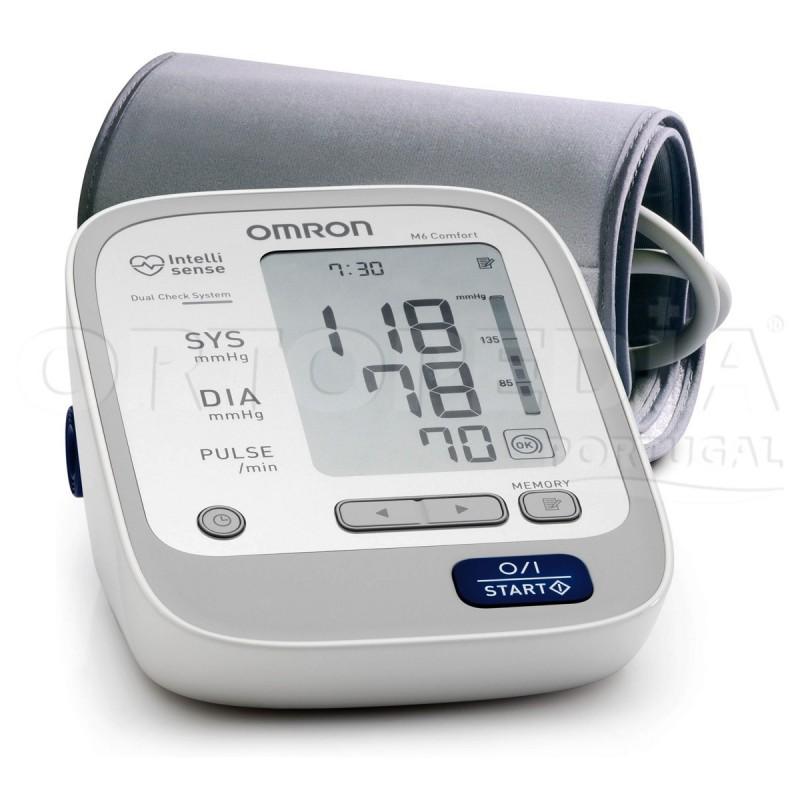 Medidor de tensão arterial de braço com detecção de arritmia
