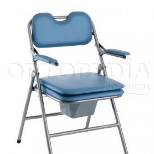 Cadeira sanitária de encartar