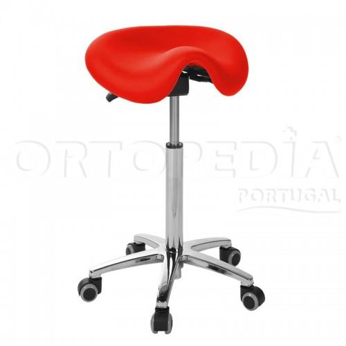 Cadeira antómica sem costas
