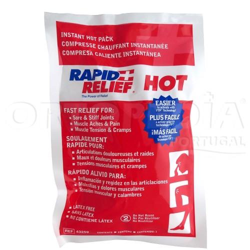 Compressa de quente instantâneo