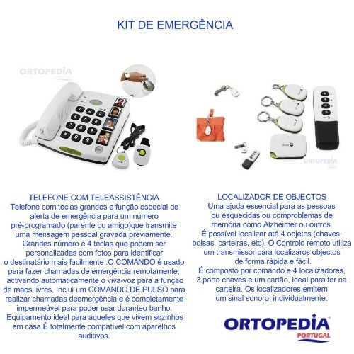 Kit Promoção Emergência