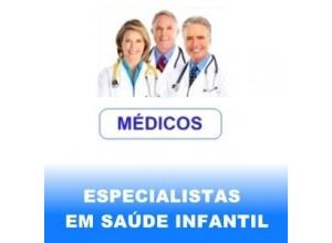 ESPECIALISTAS EM SAÚDE INFANTIL